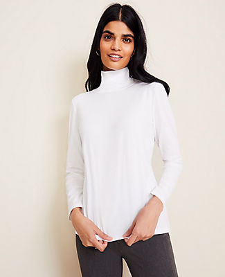 Ann Taylor Pima Cotton Turtleneck