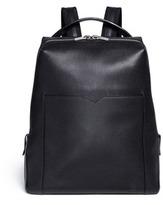 Valextra 'V Line' leather backpack