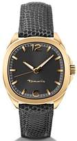 Tamaris Bridget Women's Quartz Watch with Silver Dial Analogue Display and Brown Leather Strap