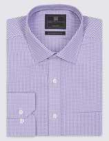 M&s Collection Pure Cotton Tailored Fit Shirt With Pocket
