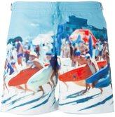 Orlebar Brown surf photo print swim shorts