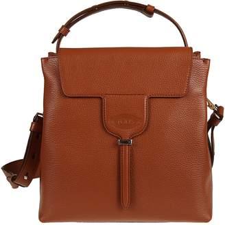 Tod's Tods Embossed Logo Shoulder Bag