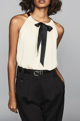 Reiss Mya Bow Front Shell