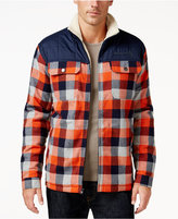 Free Country Men's Sherpa Collar Plaid Jacket