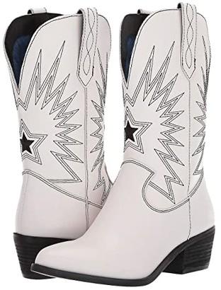 Dingo Rockstar (White) Cowboy Boots