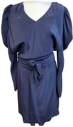 See by Chloe Blue Silk Dresses