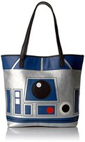 Loungefly Star Wars Reverse R2d2 and C3po Tote