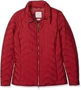 Geox Women's Woman Jacket Long Sleeve Jacket, Tibetan Red F7406, 8 (Manufacturer Size: 42)