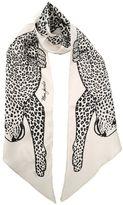 Marc Jacobs Leopard-print Silk Scarf