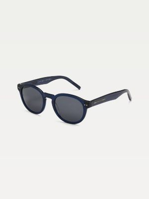 Tommy Hilfiger Tortoiseshell Round Sunglasses