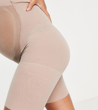 Spanx Maternity Mama Shapewear Shorts in beige