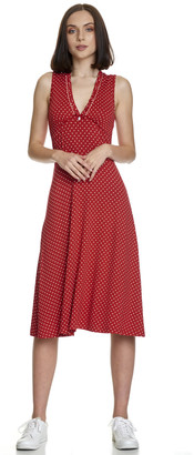 Vive Maria My Monaco Kiss Dress Red/Allover - S .   viscose   red   dotted - Red/Red