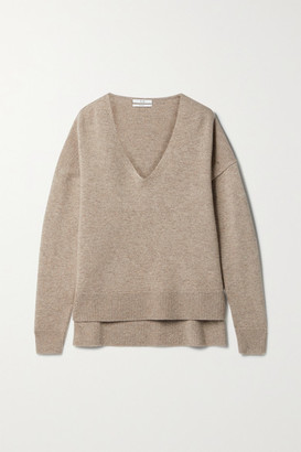 Co Wool And Cashmere-blend Sweater - Taupe
