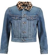 Marc by Marc Jacobs Embellished Cropped Denim Jacket