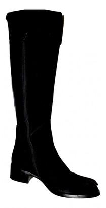 Non Signã© / Unsigned Black Suede Boots