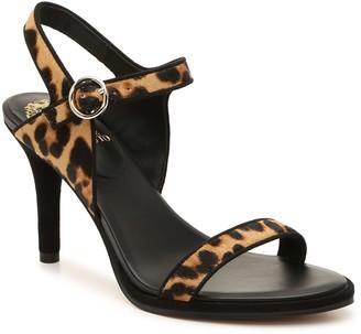 Details about  /Vince Camuto Women's Leopard Sandals Heels NIB