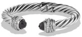 David Yurman Cable Classic Crossover Bracelet With Black Onyx And