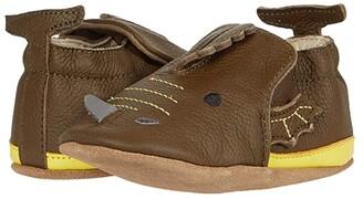 Robeez Drake Soft Sole (Infant/Toddler) (Olive Green) Boy's Shoes