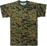 Rothco Men's Digital Camo T-Shirt, Digital Camo
