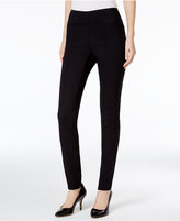 Alfani Pull-On Seamed Skinny Pants, Only at Macy's
