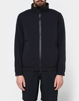 Reigning Champ Stow Away Hood Jacket - Stretch Nylon in Black