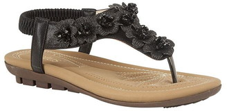 Lotus Shoes Chiquita Flat Toe-Post Sandals