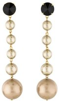 Marni Crystal & Faux Pearl Drop Earrings