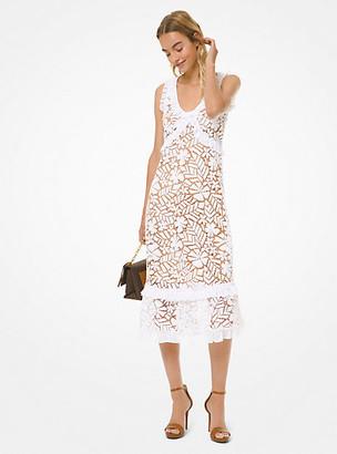 MICHAEL Michael Kors MK Floral Lace Dress - White - Michael Kors