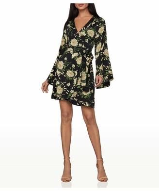 BCBGMAXAZRIA Women's Wrap Dress