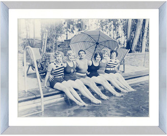 Vintage Print Gallery Girlfriends Having Fun I Photography Print