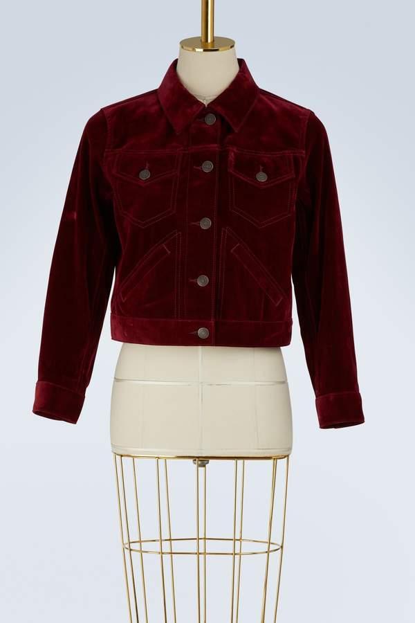 Marc Jacobs Velvet short jacket