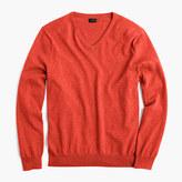 J.Crew Slim cotton-cashmere V-neck sweater