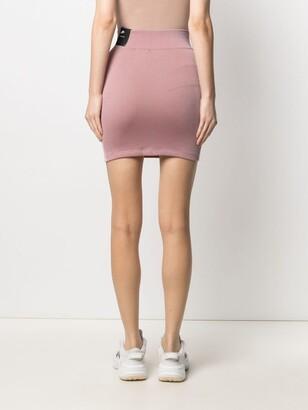 Nike Ribbed-Knit Tank Skirt