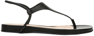 Via Spiga Pixey Leather Thong Sandals