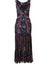 Saloni 'Garnet' dress