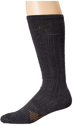Carhartt Force Extremes Cushioned Over the Calf Work Boot Socks (Charcoal) Men's Crew Cut Socks Shoes