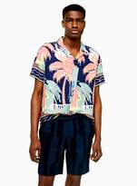 TopmanTopman Navy Stripe Shorts
