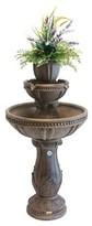 """Saint Tropez 42"""" Indoor/Outdoor Bergamo Rechargeable Fountain"""