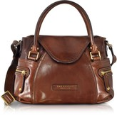 The Bridge Icons Gaucho Small Leather Satchel w/Shoulder Strap