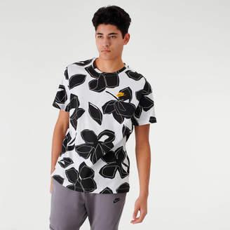 Nike Men's Sportswear Floral Allover Print T-Shirt