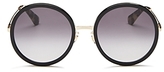 Kate Spade Lamonica Round Sunglasses, 53mm