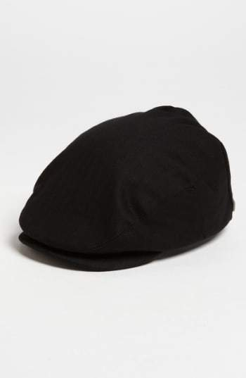 Brixton Men's 'Hooligan' Driving Cap - Black