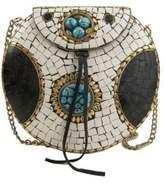 Sam Edelman Beatrice Embellished Iron Circle Crossbody Bag