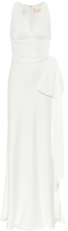 Thumbnail for your product : Max Mara Cester satin gown