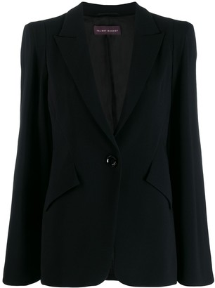 Talbot Runhof Single-Breasted Blazer