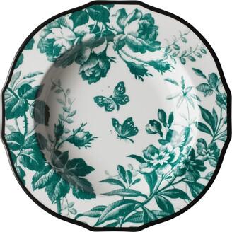 Gucci Herbarium rim soup bowl, set of two