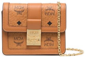 MCM Monogram-Print Mini Bag