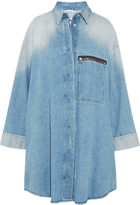 MM6 MAISON MARGIELA Oversized Denim Jacket - Light denim