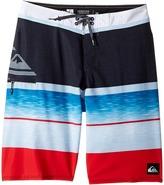 Quiksilver Slab Logo Vee 18 Boardshorts Boy's Swimwear