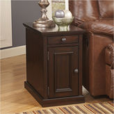 Signature Design by Ashley Laflorn Power Chairside Table